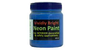 Neon Paint UV Blue