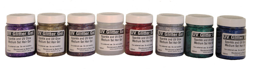 UV Glitter Hair Gel - 100ml
