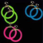 Glow Circular Earrings